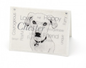 Personalized Pet Note Cards (set of 4)